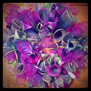 Multicolored Fun Wreath